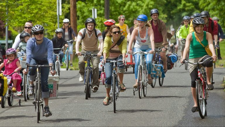 June 25 – Heading North for Sunday Parkways