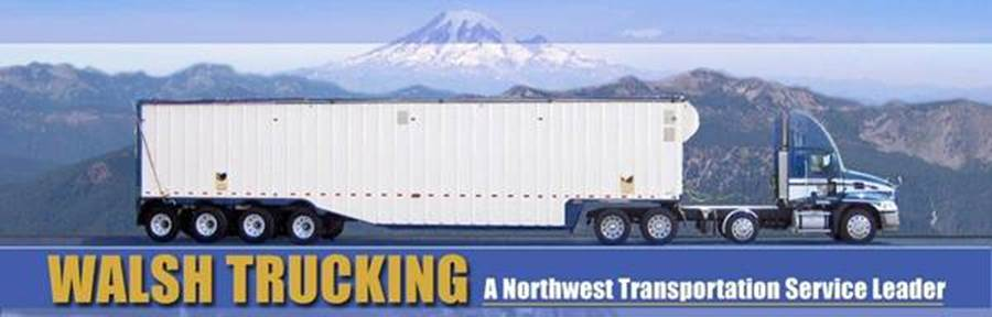 Walsh Trucking Logo - new
